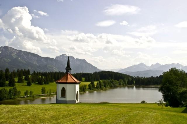 На озере Hegratsrieder See
