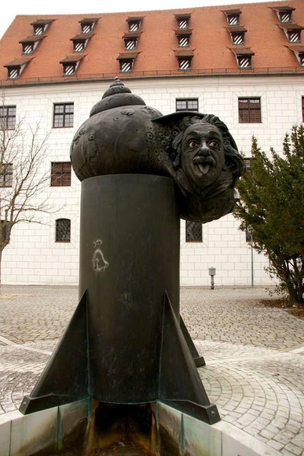 Фонтан Эйнштейна (Einstein-Brunnen)