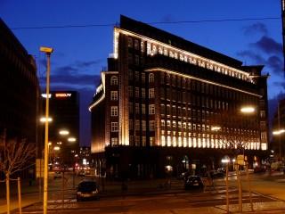 Дом «Чилихаус» — офисное здание в виде огромного корабля в центре Гамбурга
