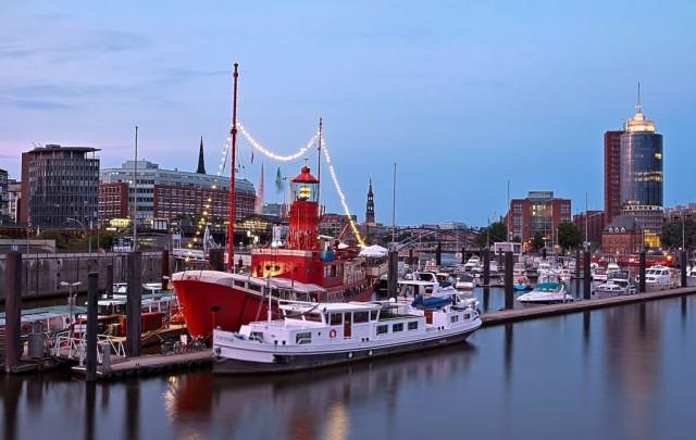 Гамбургский порт (Hamburger Hafen)