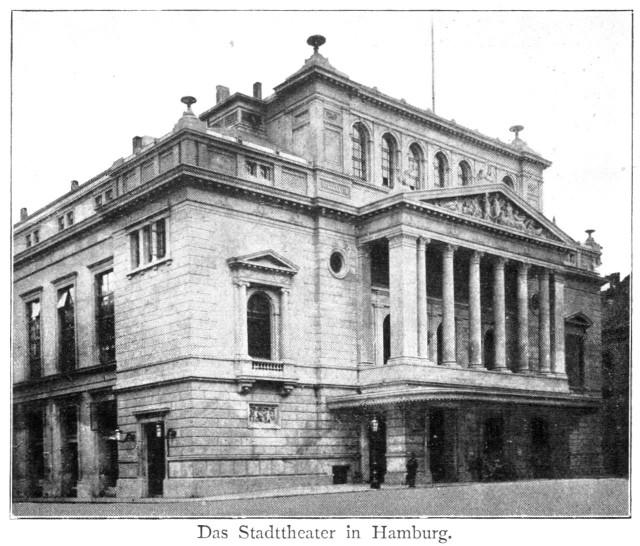 Гамбургский оперный театр (Hamburgische Staatsoper), 1890 год