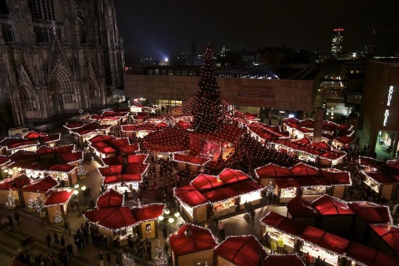 Рождественские ярмарки Кёльна