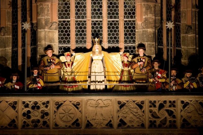 Открытие нюрнбергской рождественской ярмарки