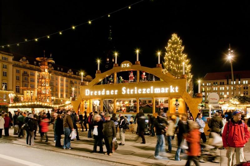 Дрезден, Штрицельмаркт (Striezelmarkt)