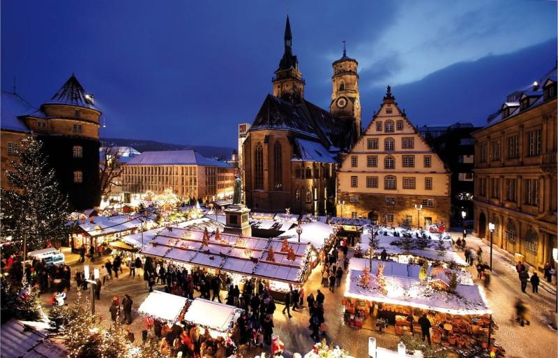 Рождественский рынок в Штутгарте