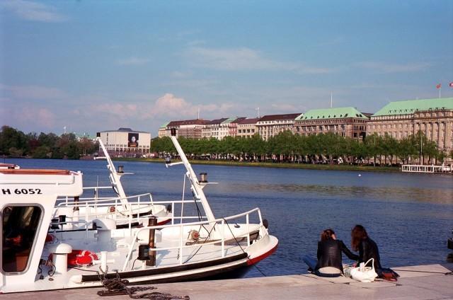 Озеро Альстер (Alstersee)