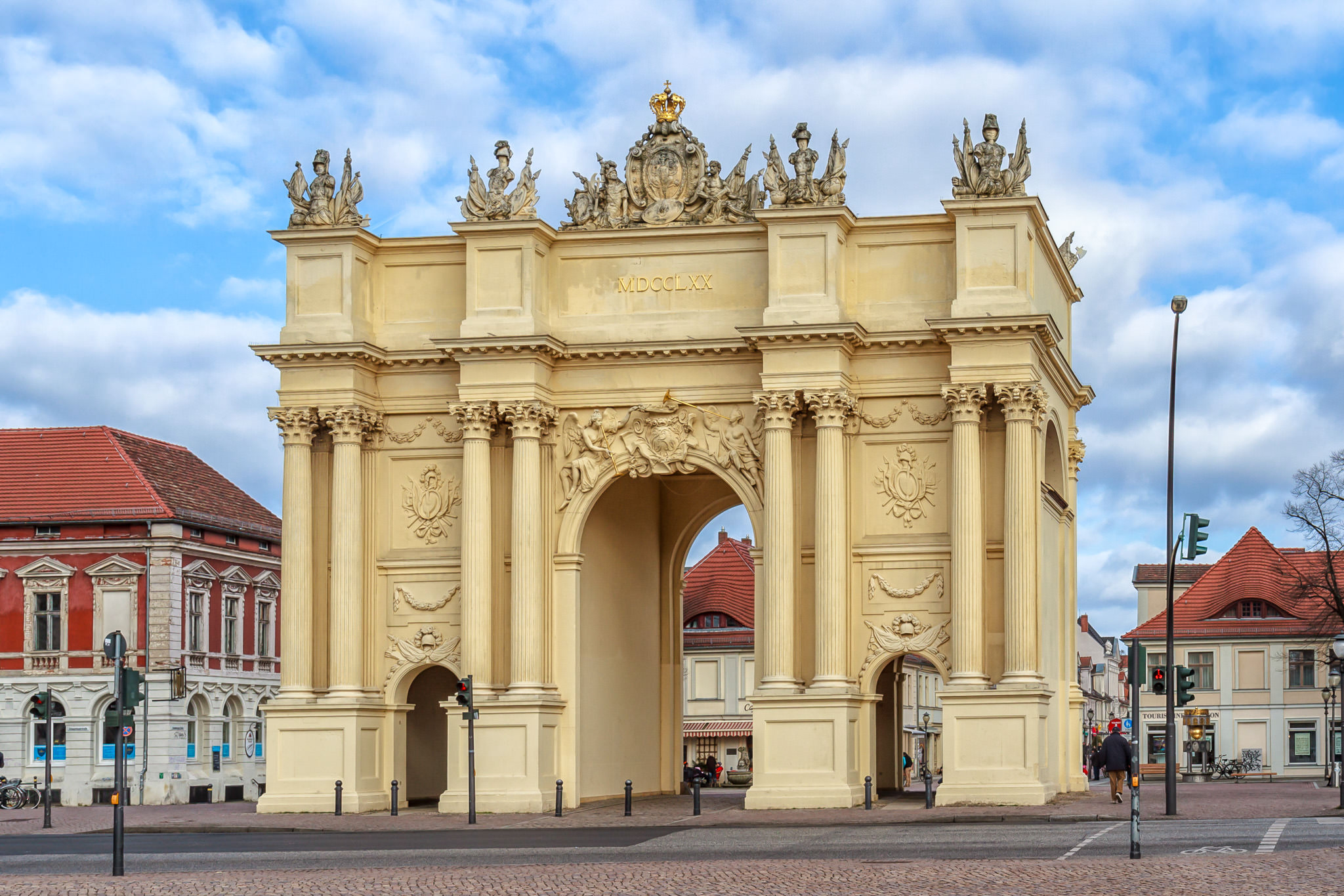 Бранденбургские ворота в Потсдаме