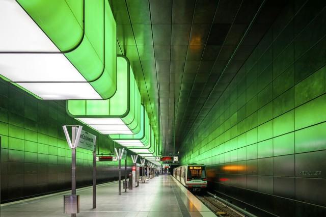 В Хафен-Сити проложена линия метрополитена