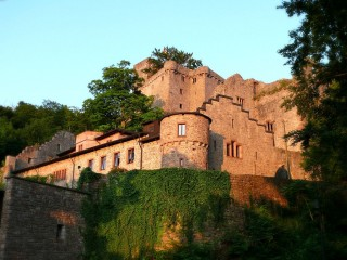 Старый замок Хоэнбаден — средневековые руины возле Баден-Бадена