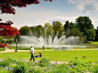 Парк Плантен ун бломен – «зелёное сердце» Гамбурга