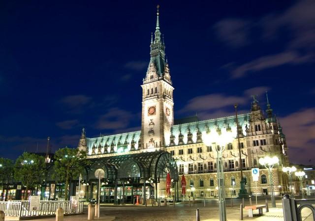 Ратуша (Hamburg Rathaus)