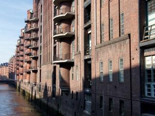 Портовые склады в Гамбурге