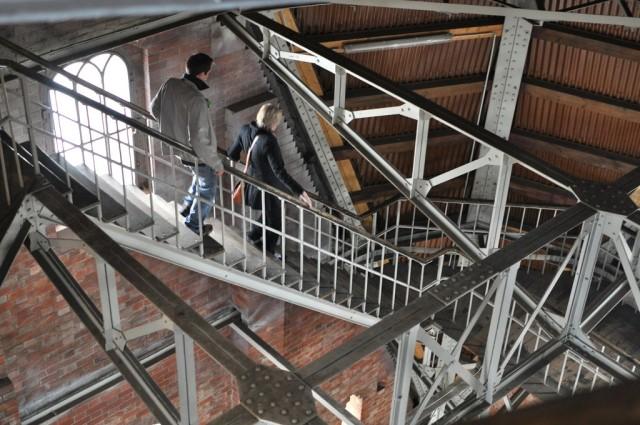Лестница на смотровую площадку