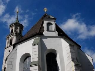 Храм святой Анны — первая евангелическая церковь в Аугсбурге