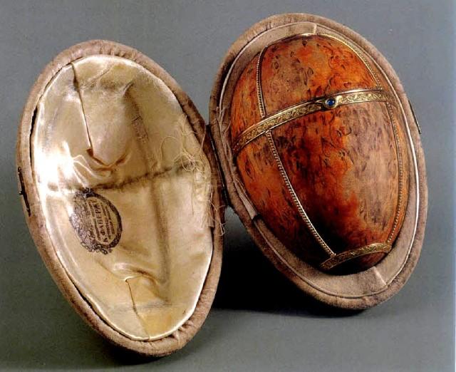 """Яйцо """"Берёзовое"""" (Birch Fabergé Ei), 1917 г."""