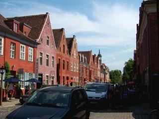 Голландский квартал — уникальный жилой городок в центре Потсдама