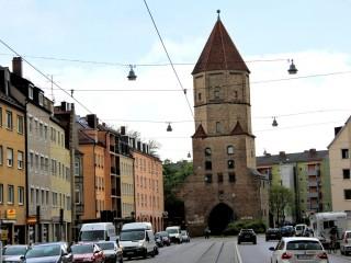 Исторические ворота Аугсбурга