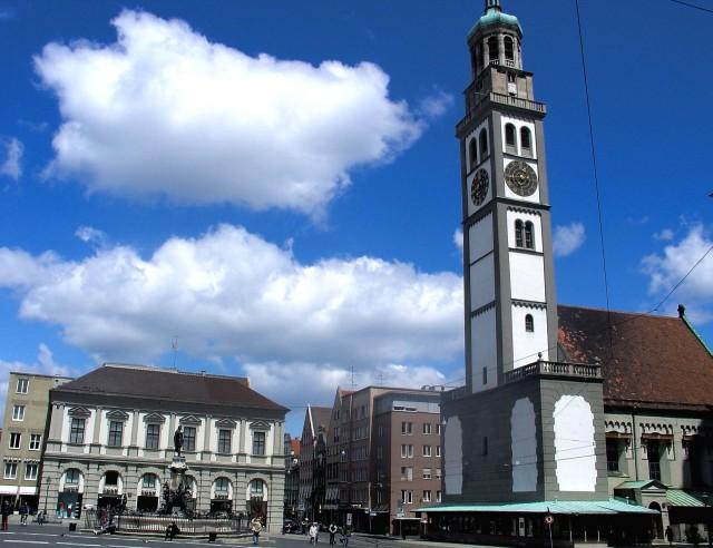 Башня Перлахтурм (Perlachturm)