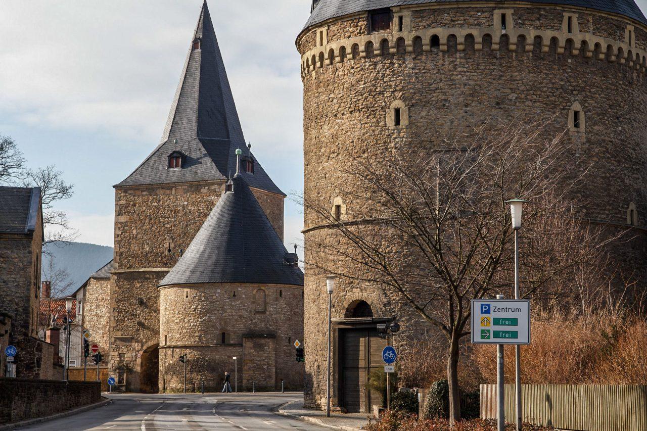 Широкие ворота города
