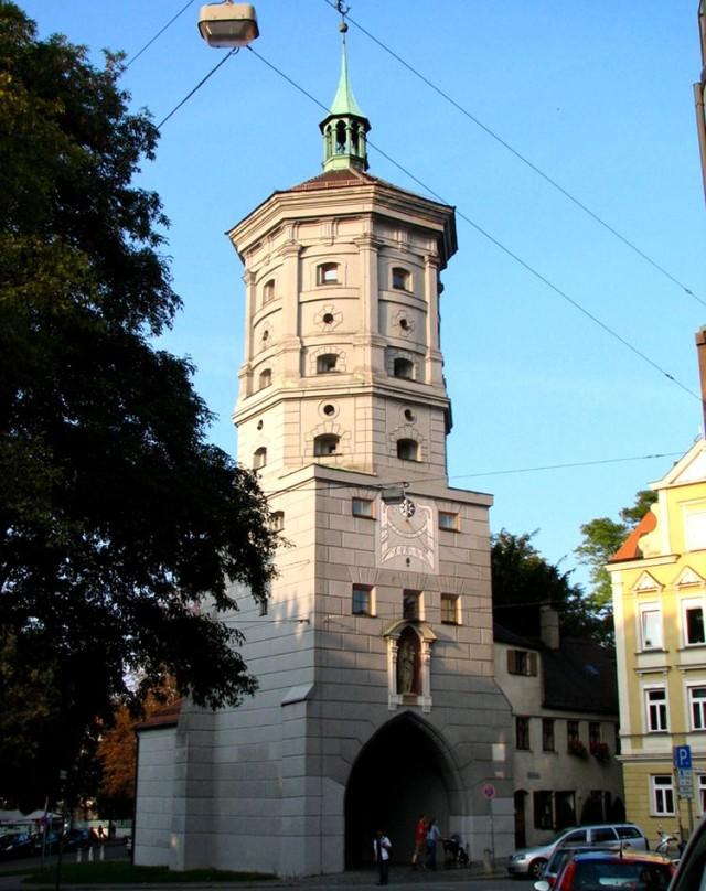 Ворота моста через Вертах (Wertachbruckertor)