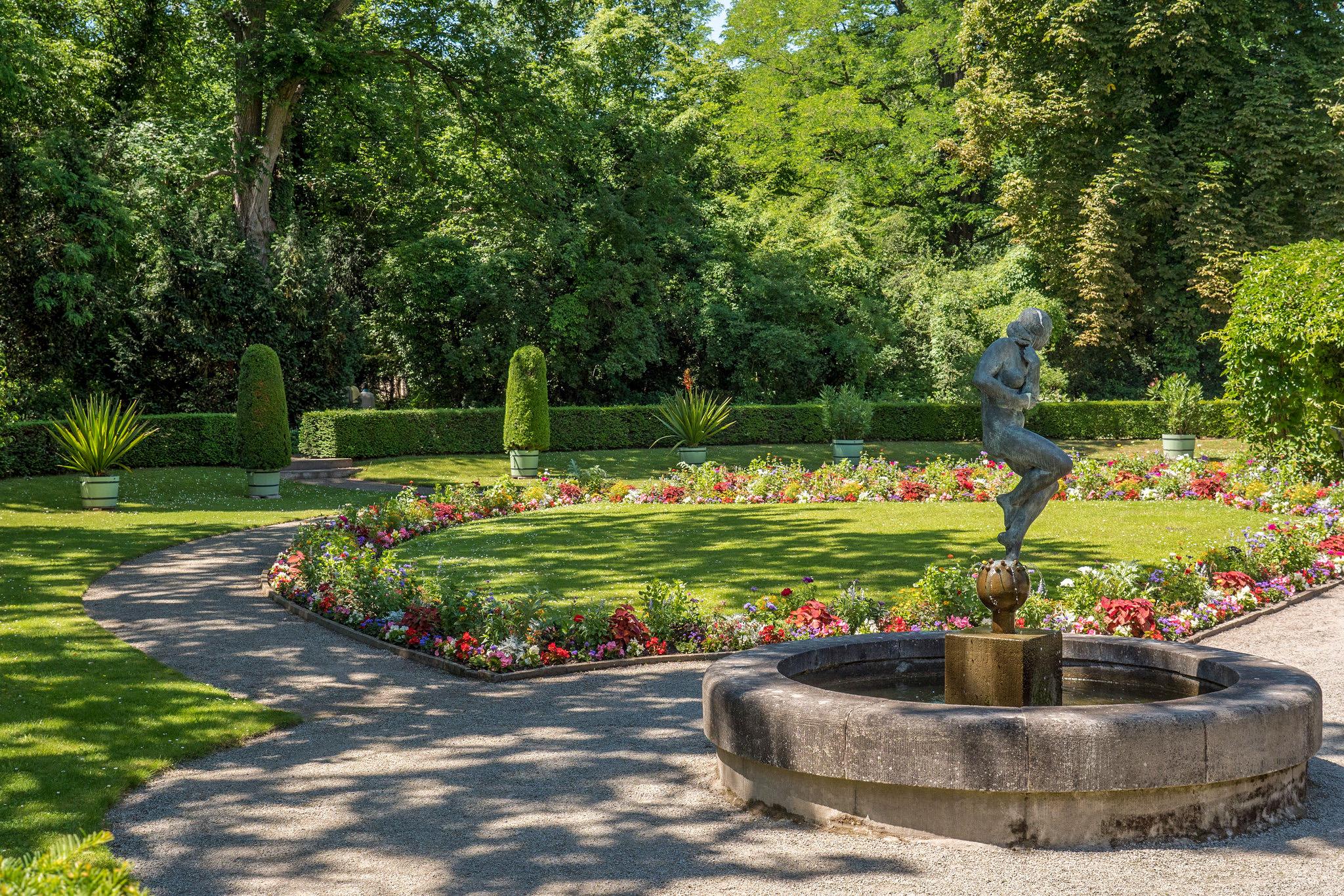 Новый сад в Потсдаме