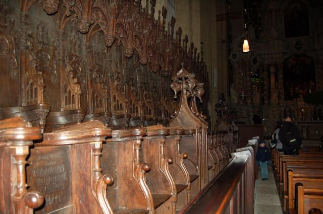 Интерьер кафедрального собора (Erfurter Dom)