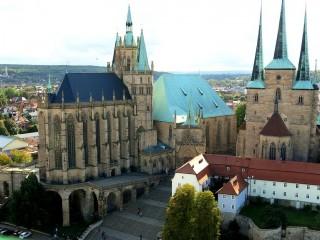 Эрфуртский кафедральный собор Богоматери