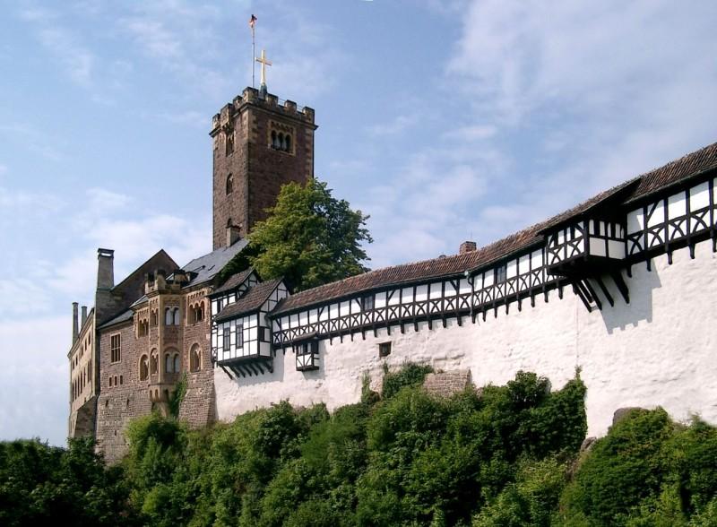 Замок Вартбург (Wartburg)