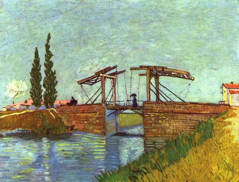"Винсент Ван Гог ""Мост в Арле"" , 1888 г."
