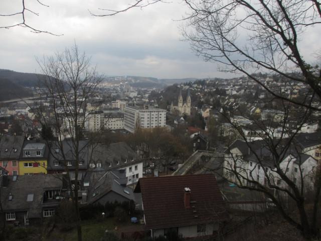 Вид на Зиген из Верхнего замка