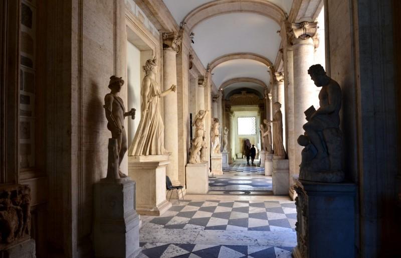Во дворце Нуово (Palazzo Nuovo)
