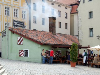 Историческая колбасная кухня у Каменного моста
