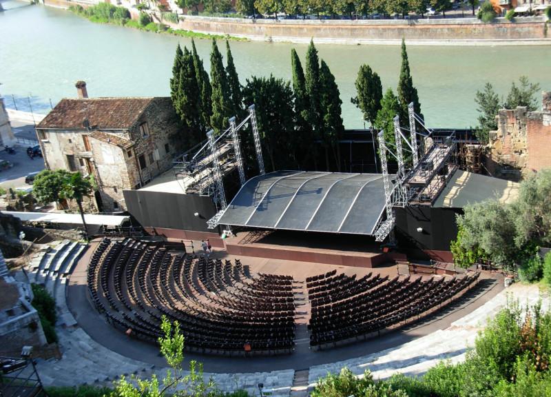 Археологический музей и римский театр (Museo archeologico al teatro romano)
