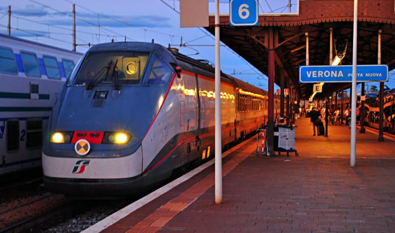 Веронский вокзал (Stazione Porta Nuova)