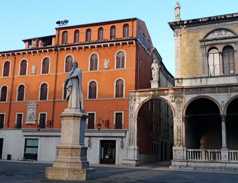 Памятник Данте (Monumento a Dante)