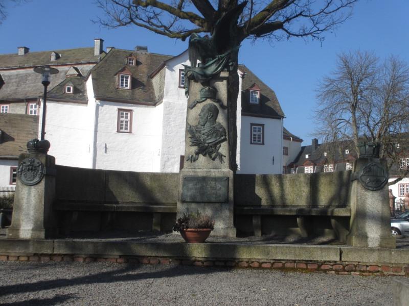 Памятник в Бад-Берлебурге