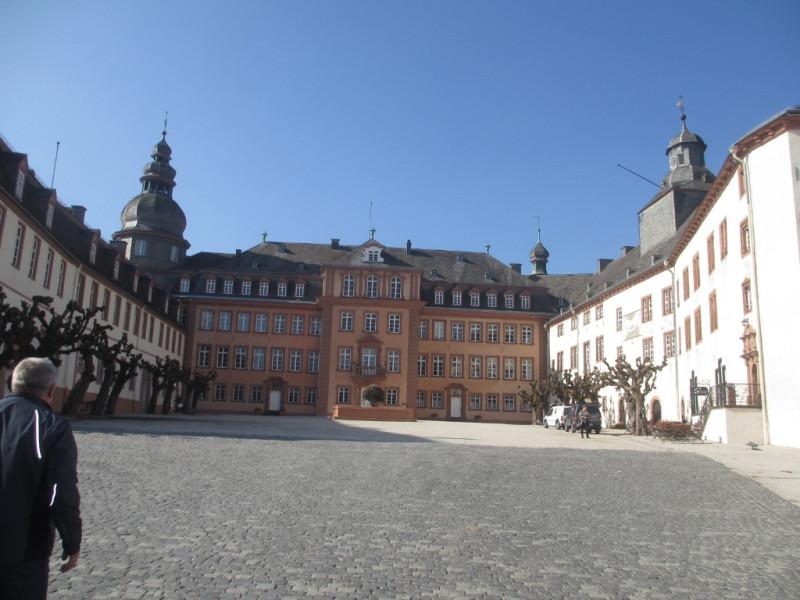 Замок в Бад-Берлебурге