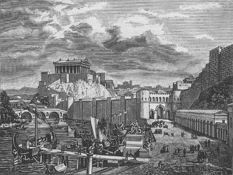 Капитолийский холм в эпоху Римской республики