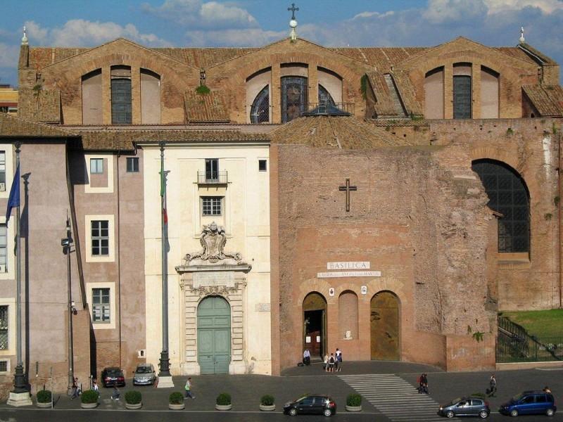 Базилика Санта-Мария-дельи-Анджели-э-деи-Мартири  (Basilica di Santa Maria degli Angeli e dei Martiri)