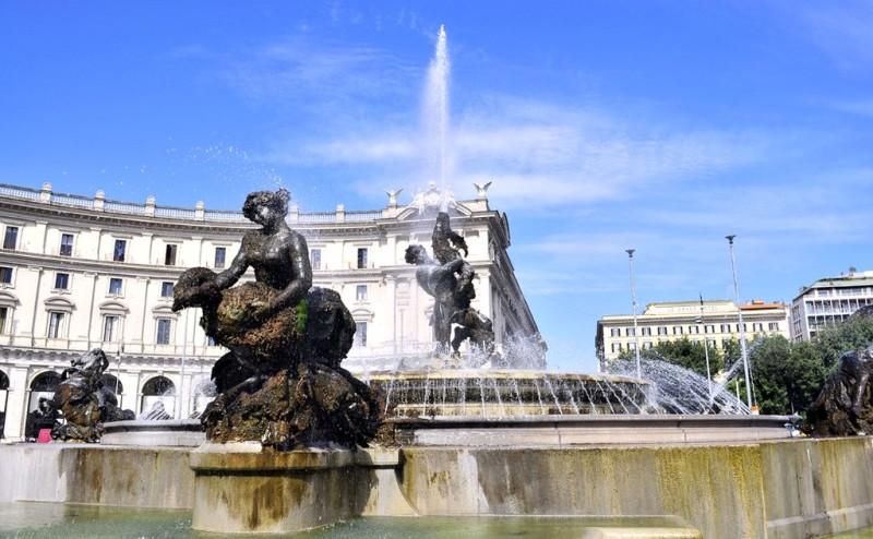 Фонтан Наяд (Fontana delle Naiadi)