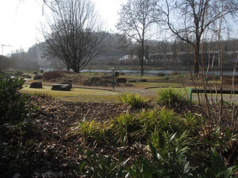 Парк у озера Бигезее