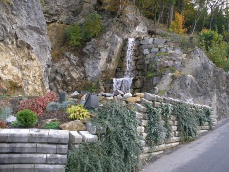 Водопад рядом с пещерой Атта