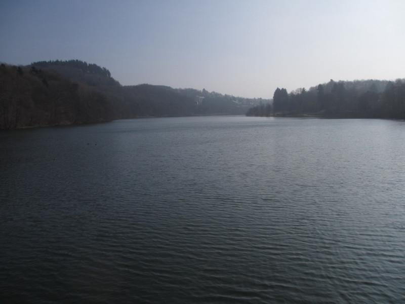 Озеро Бигезее. Зауэрланд. Северный Рейн-Вестфалия