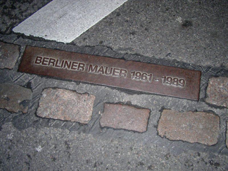 Здесь проходила Берлинская стена