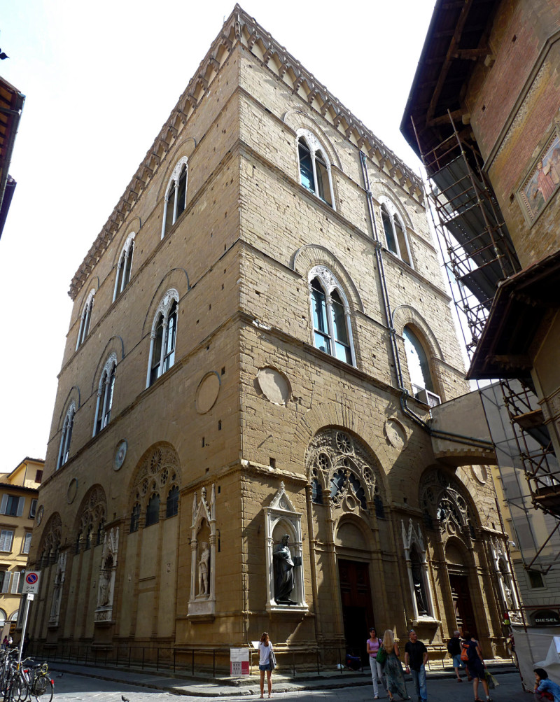 Церковь Орсанмикеле (Chiesa di Orsanmichele)