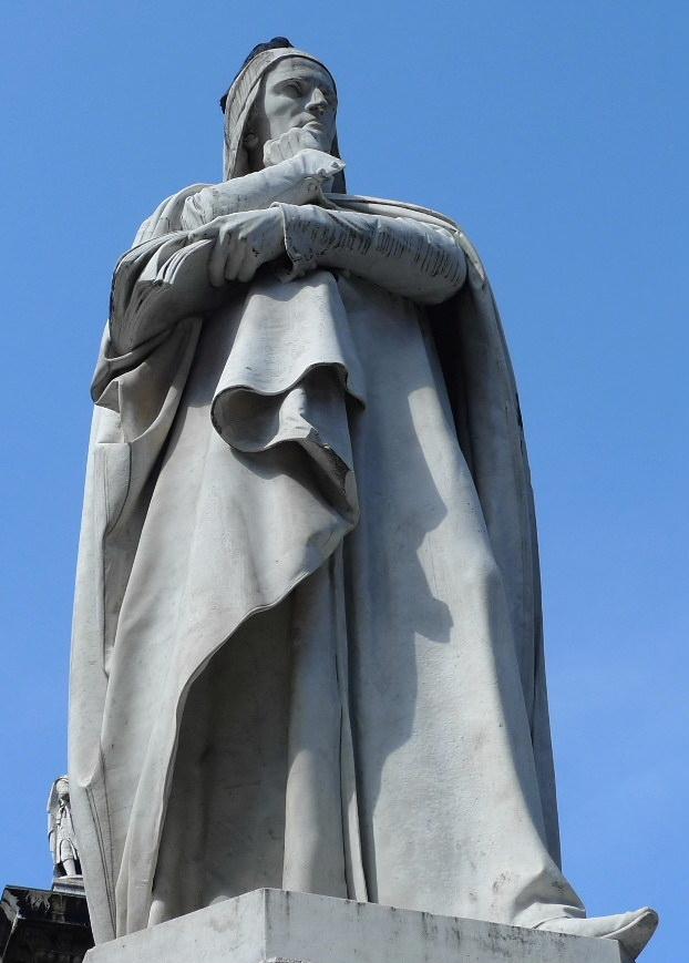 Статуя Данте (La statua di Dante)