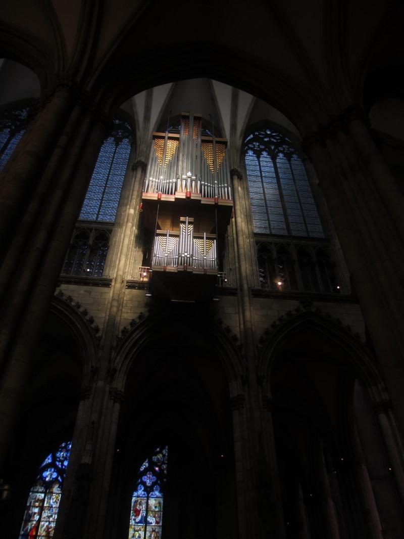 Орган в Кельнском соборе