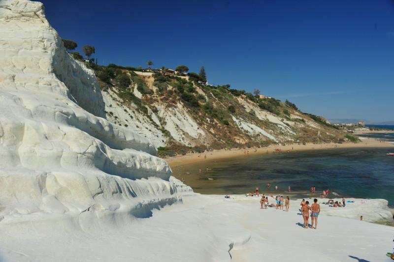 Пляж Турецкая лестница (Scala dei Turchi)