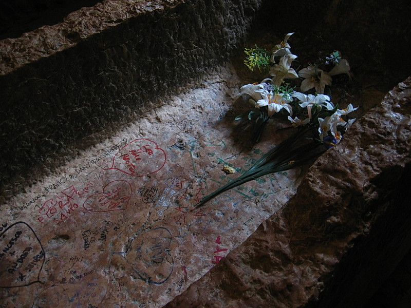 Внутри гробницы Джульетты