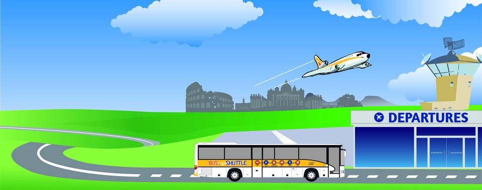 Shuttle Bus в Рим